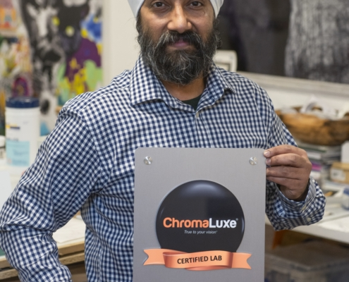 Kili Arts Certified ChromaLuxe Printer